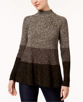 Style&Co. Style & Co Petite Marled Swing Sweater, Created for Macy's