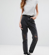 New Look Tall Ripped Mom Jeans