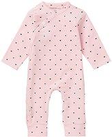 Noppies Baby Girls' G Playsuit Jrsy Ls Nemi-67372 Bodysuit,6-9 Months