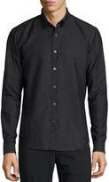 Theory Rammy Linen Sport Shirt