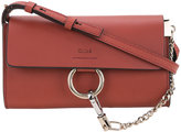 Chloé Faye wallet on strap bag - women - Calf Leather - One Size