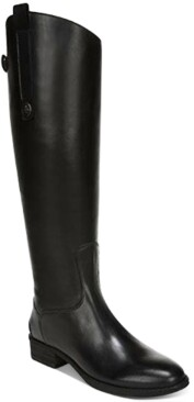 Sam Edelman Penny Leather Riding Boots Women's Shoes