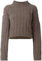 Vivienne Westwood cable knit jumper