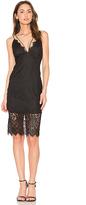 Bardot Flora Midi Dress in Black. - size Aus 10 / US S (also in Aus 8 / US XS)