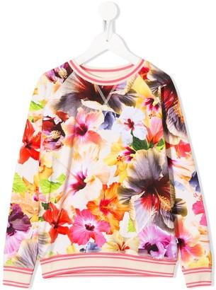 Molo Kids Raewyn floral sweatshirt