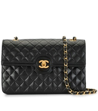 Chanel Pre Owned 1990s quilted CC shoulder bag