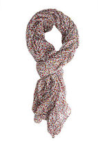 Forever 21 Ditsy Floral Woven Scarf