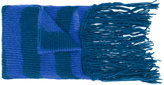Diesel striped scarf