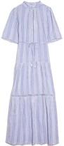 Apiece Apart Alta Dress in Adriatic Mini Stripe