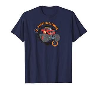 Nickelodeon Blaze and the Monster Machines Halloween Happy T-Shirt