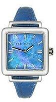 Ted Baker Women's TE2016 Blue Leather Watch