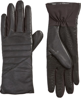 U R Moto Touchscreen Compatible Leather Gloves