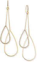 ABS by Allen Schwartz Gold-Tone Double-Teardrop Earrings