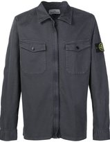 Stone Island cargo shirt - men - Cotton/Spandex/Elastane - L