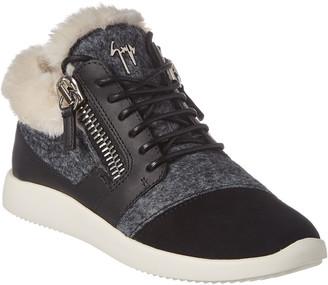 Giuseppe Zanotti Low-Top Leather Sneaker