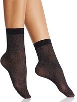 Wolford Shimmer Net Socks