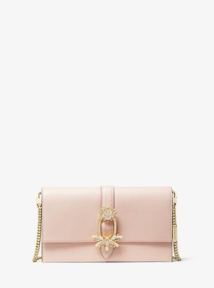 Michael Kors Cece Large Leather Convertible Crossbody Bag