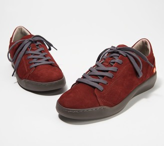 Fly London Softinos by Leather Lace-Up Sneakers - Bauk