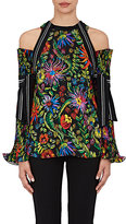 3.1 Phillip Lim Women's Floral Cold-Shoulder Blouse