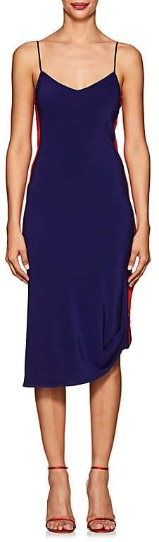 Area Women's Dorato Silk Crêpe De Chine Slipdress