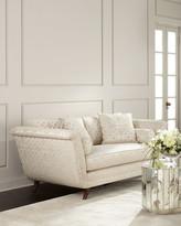 Ambella Ivory Trellis Sofa