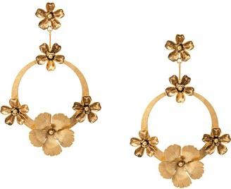 Jennifer Behr Freya hoop earrings