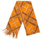 Burberry Cashmere Printed Scarf