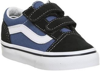 Vans Old Skool Toddlers Navy True White