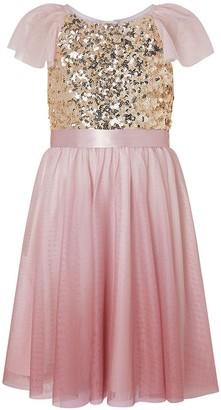 Monsoon Girls Truth Ombre Maxi Dress - Pink