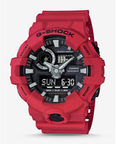 Express G-shock Red And Black Front Button Watch