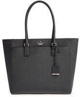 Kate Spade 'Cameron Street - Havana' Textured Leather Tote - Black