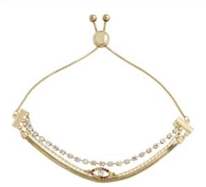 Jessica Simpson Evil Eye Slider Bracelet