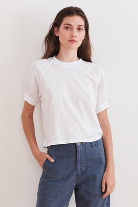 Velvet by Graham & Spencer Stila Puff Sleeve Tee