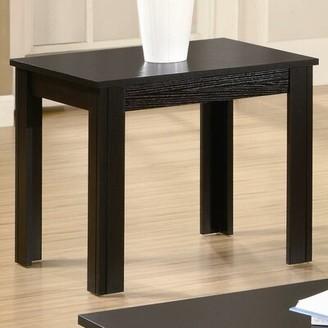 Wildon Home Winslow 3 Piece Coffee Table Set Color: Black