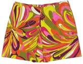 Milly MultiColor Printed Retro Mini Skirt