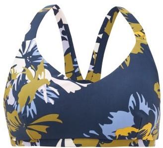 The Upside Kauai Floral-print Low-impact Sports Bra - Navy Multi