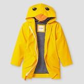 Cat & Jack Toddler Boys' Duck Hooded Raincoat Cat & Jack - Yellow