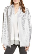 Badgley Mischka Women's Ocelot Jacquard Wrap