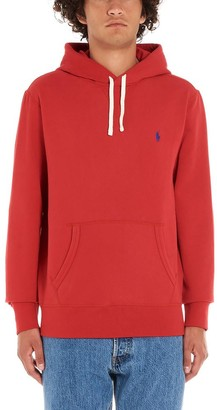 Polo Ralph Lauren Classic Logo Embroidered Drawstring Hoodie