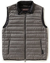Michael Kors Solid Channel Quilted Full-Zip Vest
