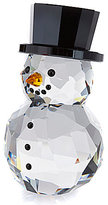 Swarovski Crystal Snowman with Hat Figurine