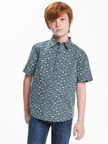 Old Navy Shark-Printed Pullover Shirt for Boys