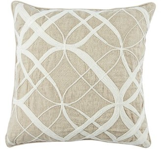 Jaipur Nikki Chu Living Otway Linen Throw Pillow Nikki Chu Fill Material: Down/Feather