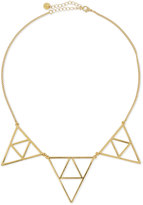 Jules Smith Designs Triple Triangle Necklace, Golden