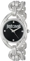 Just Cavalli Women's R7253182503 Drop Stainless Steel and Swarovski Crystal Watch with Link Bracelet