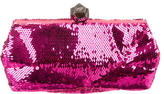 Roger Vivier Mini Prismick Sequined Clutch