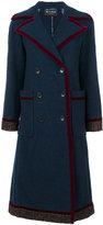 Etro velvet trim coat