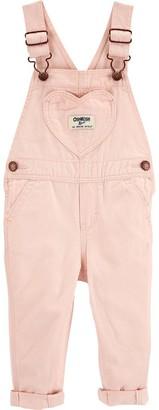 Osh Kosh Baby Girl OshKosh Bgosh Heart Pocket Overalls