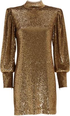 A.L.C. Christy Sequin-Embellished Shift Dress