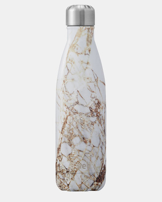 Swell Gold Water Bottles - Insulated Bottle Elements Collection 500ml Calacatta Gold - Size One Size at The Iconic